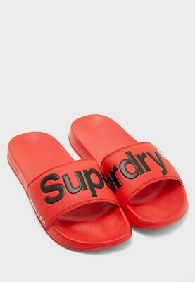 Chancla Pala Superdry Pool Slide Roja