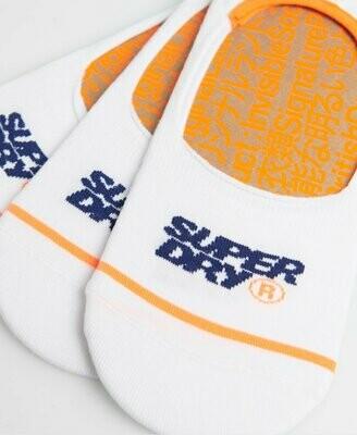 Calcetines Superdry Tobilleros No Show Trainer Triple Pack Algodón Orgánico