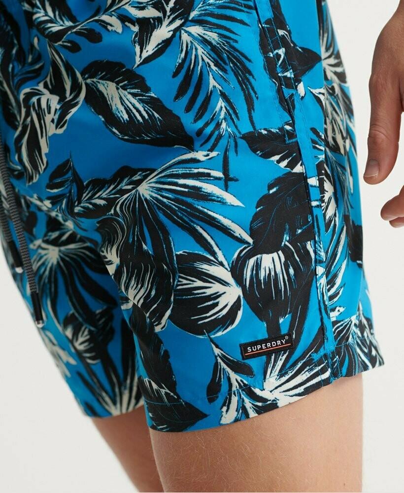 Bañador edit palm blue
