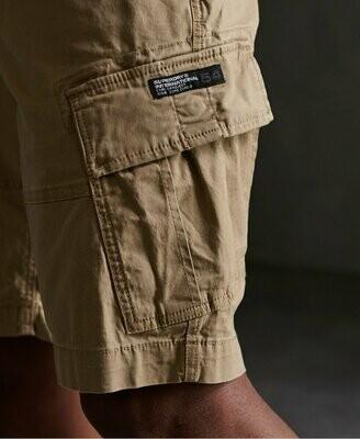 Bermuda core cargo shorts beige