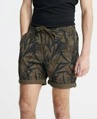 Sunscorched Chino Short Hawaiano Oliva