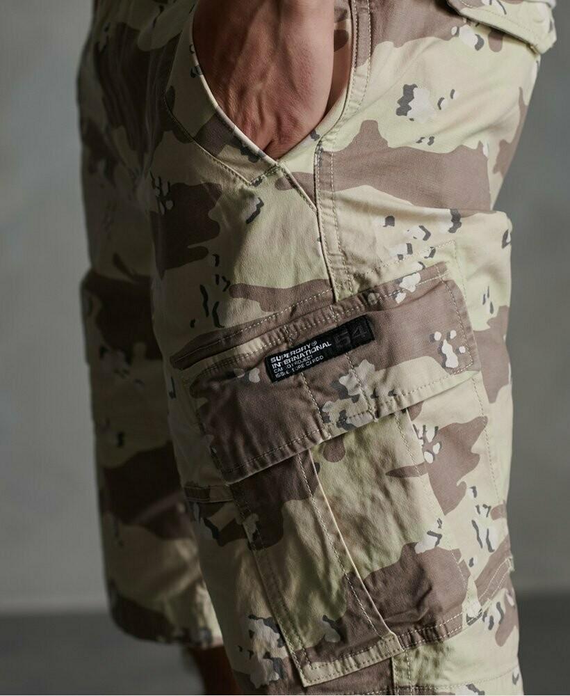 Bermuda Core Cargo Shorts Camuflaje