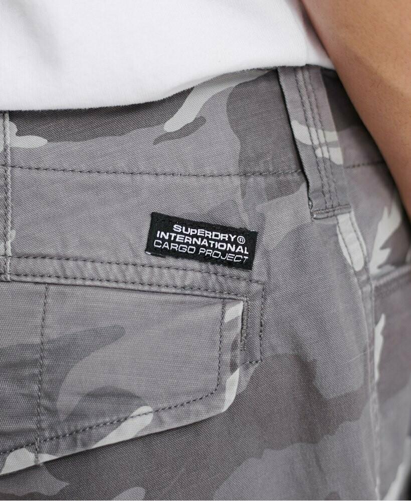 Bermuda Core Cargo Shorts Camuflaje Gris