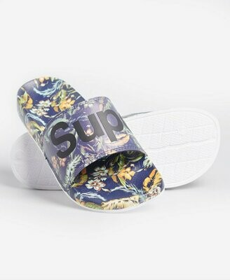 Chancla Pala Classic Superdry Beach Slide Indo Leaf