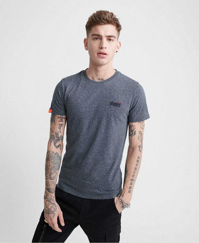 Camiseta Orange Label Vintage  Blue Grindle