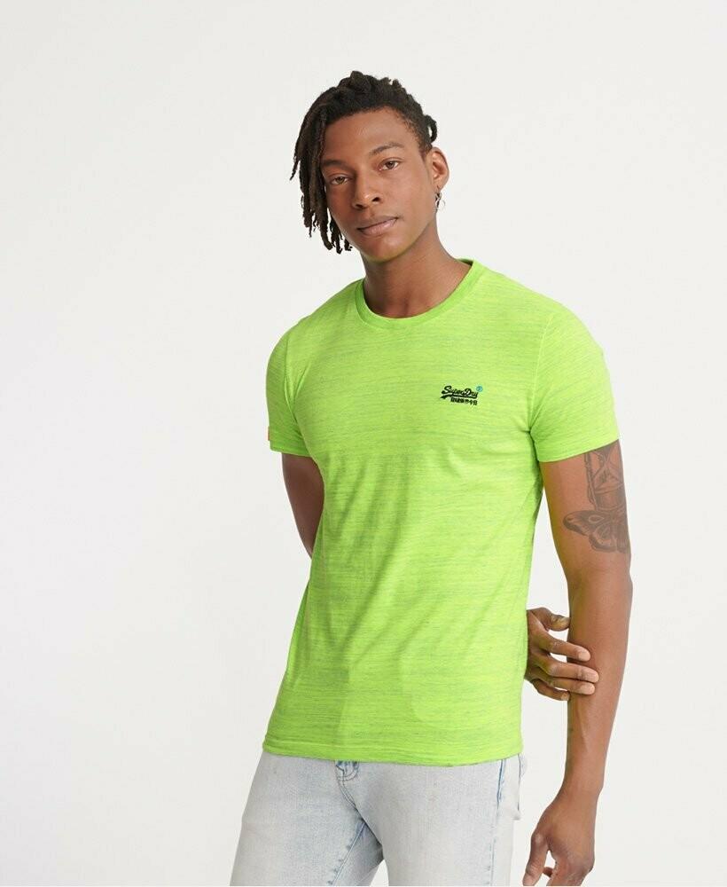 Camiseta Orange Label Vintage  Green Space dye