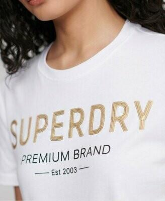 Camiseta Superdry Con Lentejuelas