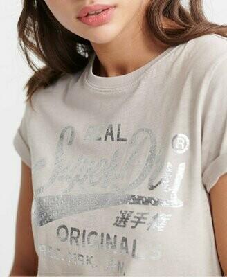 Camiseta Real Originals Text Infill