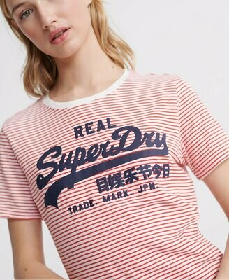 Camiseta Rayas Superdry