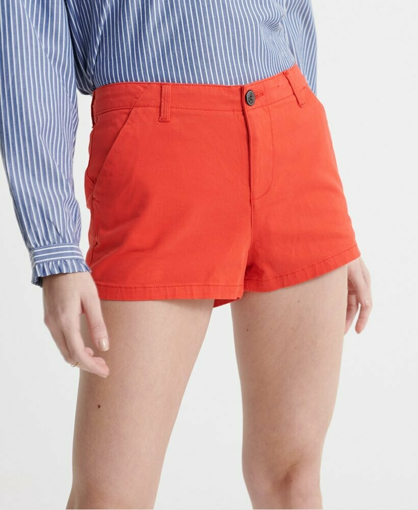 Short Chino Hot Rojo