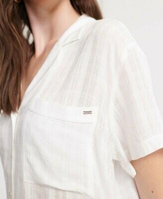 Camisa Fleur Resort Blanca