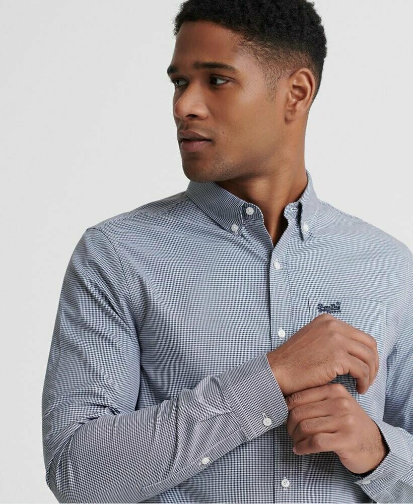 Camisa Classic London Dark Blue
