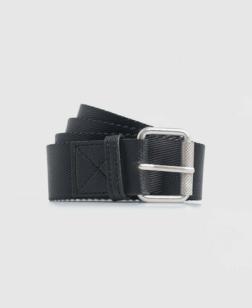 Cinturón Canvas  Belt negro