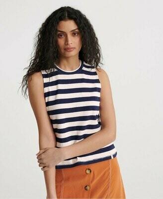 Camiseta De Tirantes A Rayas Summer azul