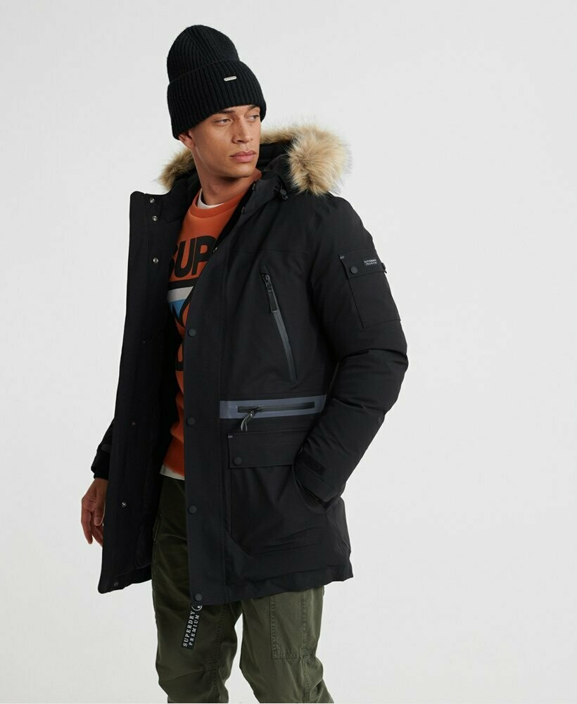 Parka de plumón Superdry Waterproof Premium Ultimate