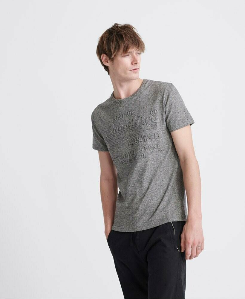 Camiseta Shirt Shop Embossed gris