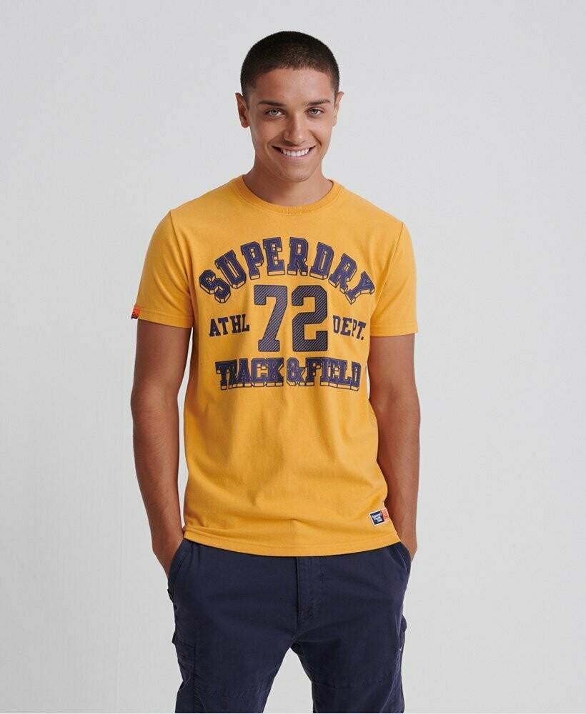Camiseta Track & Field Amarilla
