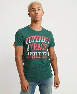 Camiseta Track & Field Verde