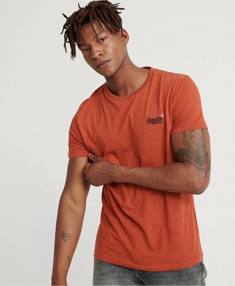 Camiseta Orange Label Vintage  Sierra Orange Logo Bordado