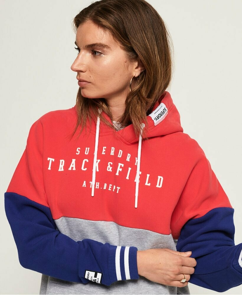 Track & Field Colour Block Hood
