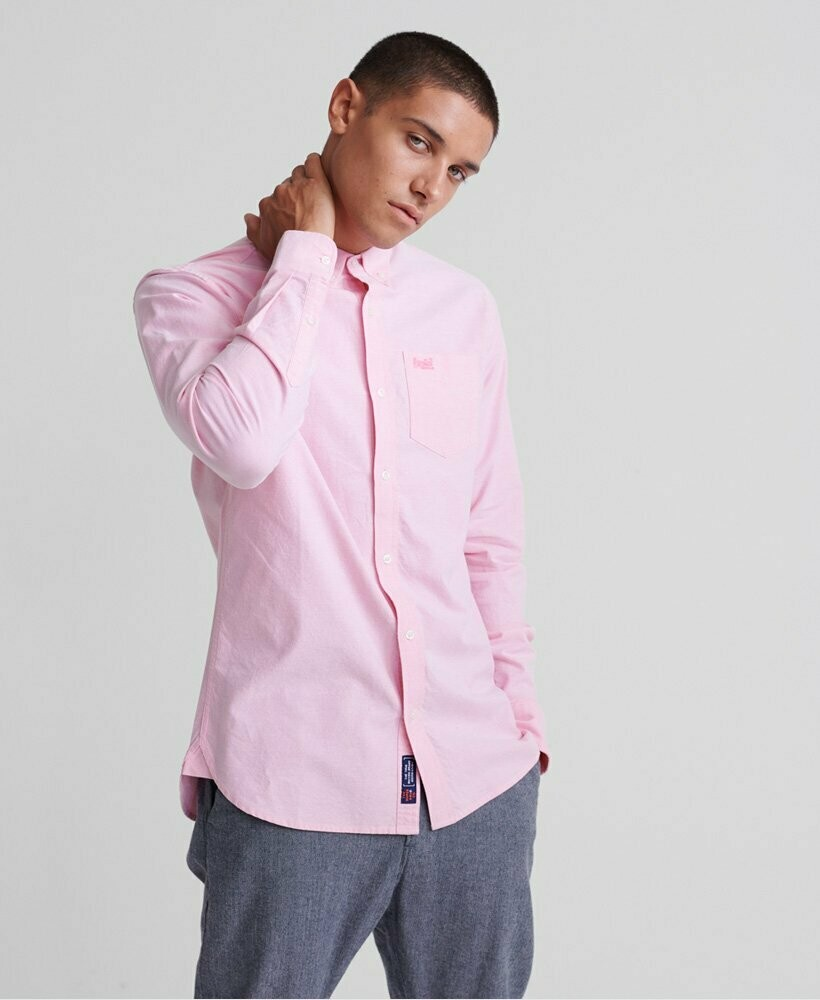 Classic University Shirt pastel pink