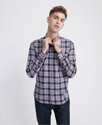 Camisa Cuadros Workwear Lite Navycheck