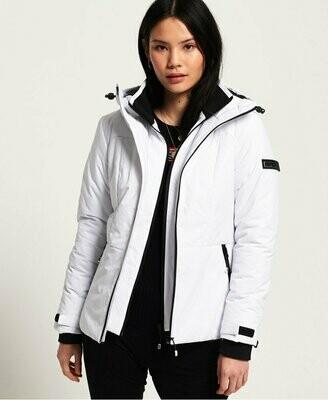 Padded Aeon Jacket Blanca