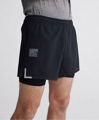 Pantalones Cortos Ligeros Training negros