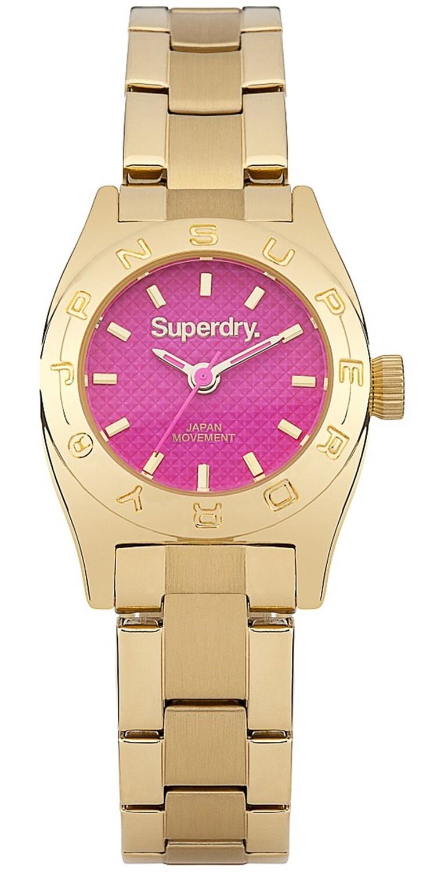 reloj mini luxe dorado