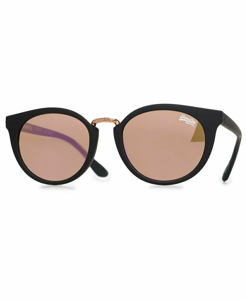 Gafas De Sol SDR Aubrey negro mate oro rosado