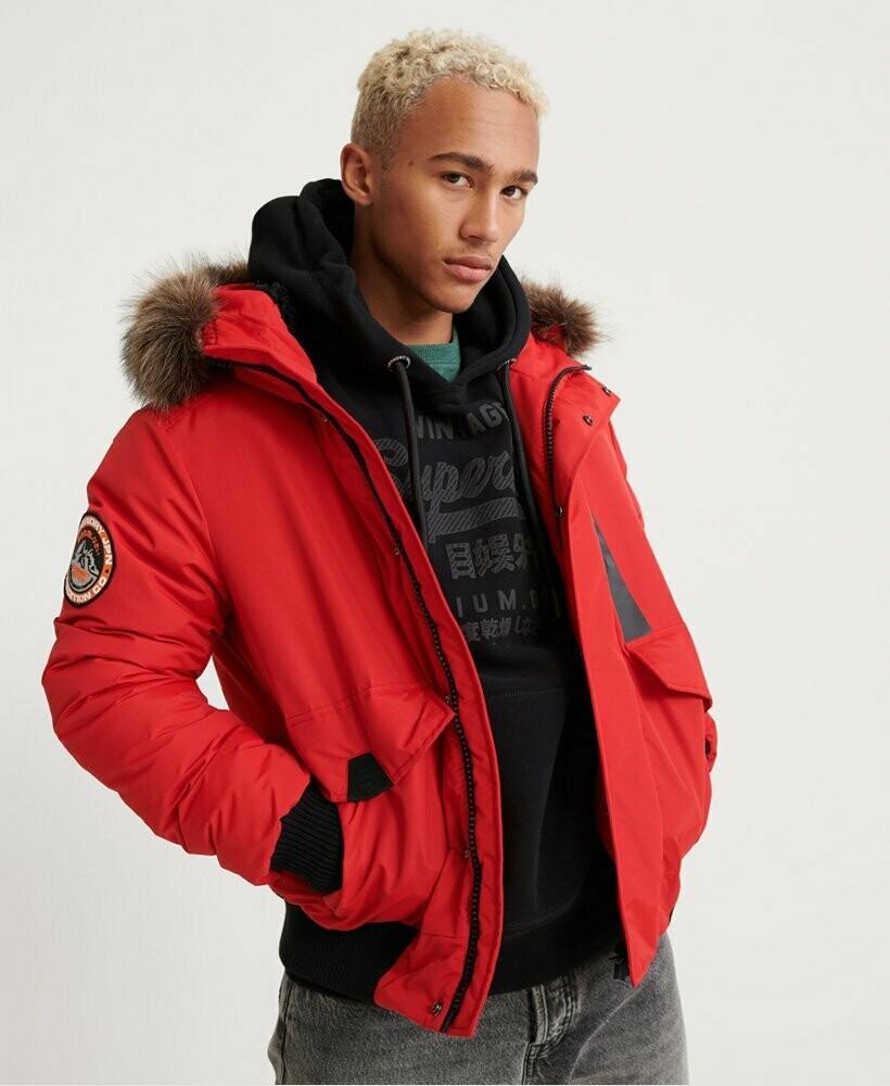 Everest Bomber Jacket roja