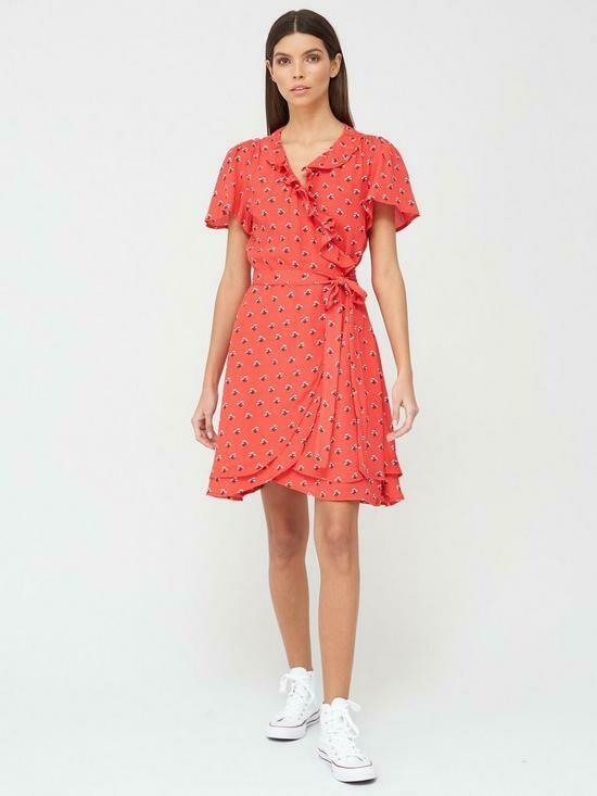 vestido Summer wrap dress