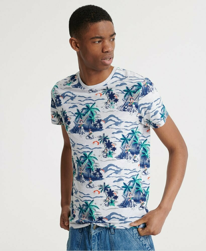Camiseta All Over Print Supply T-Shirt ice