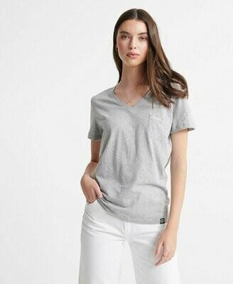 camiseta Essential V-Neck T-Shirt algodón organico