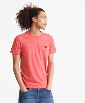 Camiseta Orange Label Embroidered Volcanic Orange Space Dye