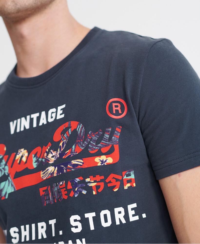 Vintage Logo Infill T-Shirt Store T-Shirt LAUREN NAVY