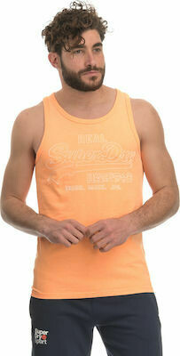 Camiseta De Tirantes outline volcanic orange