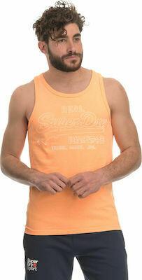 Camiseta De Tirantes outline volcanic orange