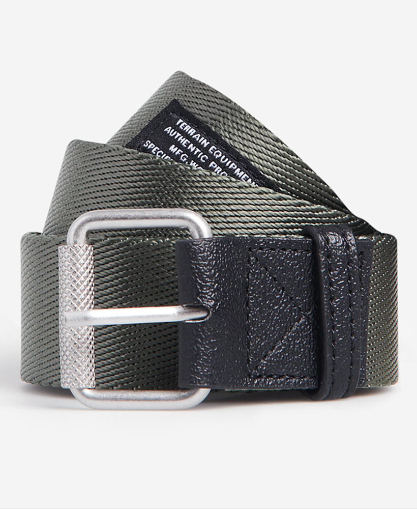 Cinturón Canvas  Belt Chive
