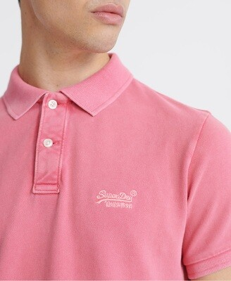 Polo Vintage Destroyed rosa maldive