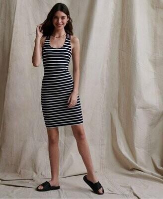Vestido de Rayas City Jacquard Bodycon Dress