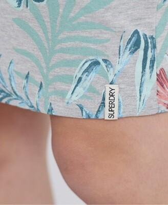 Vestido Miami Bodycon dress tropical Print