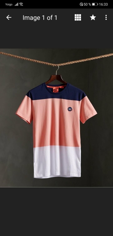 Camiseta collective color block