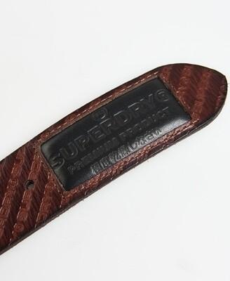 Cinturón grabado badgeman