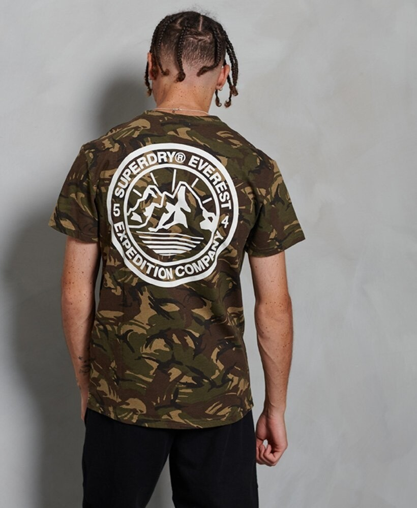 Camiseta everest camuflaje