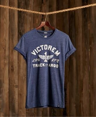 Camiseta con aplique vintage