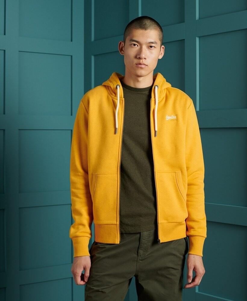 Sudadera clásica con capucha y cremallera de la colección Orange