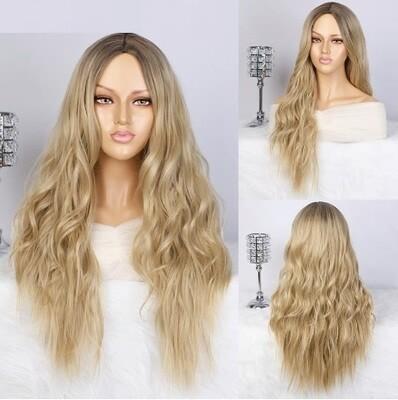 Platinum Blonde Water Wave