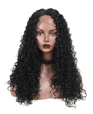 Black Kinky Curly Lace Front