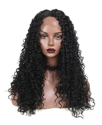 Auburn Ombre Kinky Curly Lace Front